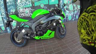 8. 2012 Kawasaki Ninja ZX-6r  Walk Around..