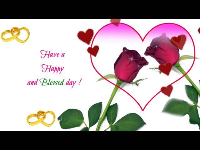 Happy Wedding Anniversary Greeting Ecard