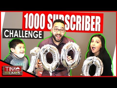 1000 Subscriber Special Video | CHALLENGE | GIVEAWAY UPDATE