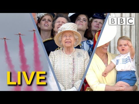 Trooping The Colour 2019 | The Queen's Birthday Parade LIVE - BBC