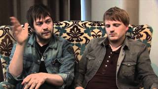 Kasabian interview - Tom Meighan and Chris Edwards (part 1)
