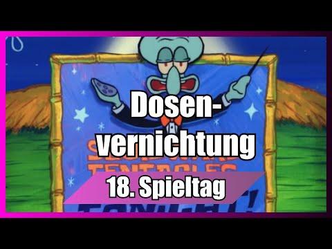 Bundesliga 18. Spieltag portrayed by Spongebob [Deutsch/German]