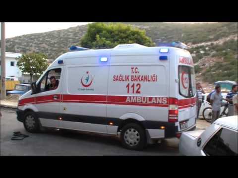 19 Eylül 2015 Milas Sanayi Sitesi Trafik Kazası 1 yaralı