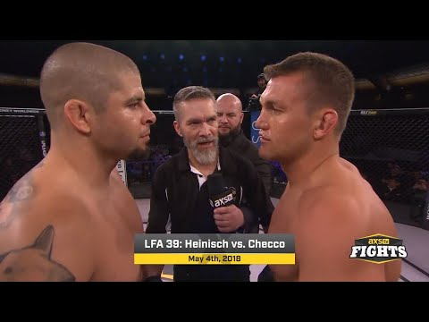 Fight Of The Week: Checco Vs. Heinisch