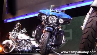 2. New 2014 Harley Davidson CVO Limited 110 Twin Cooled Engine new Motorcycle models