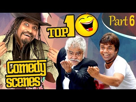Top 10 Comedy Scenes {HD} Ft - Johnny Lever | Rajpal Yadav | Sanjay Mishra  |  IndianComedy