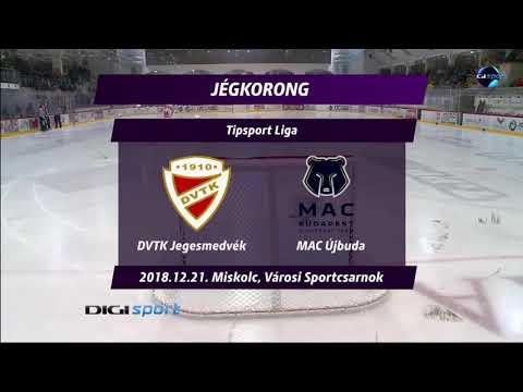 33.forduló: DVTK Jegesmedvék - MAC Újbuda 2-0