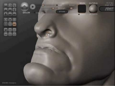 Sculptris, software freeware per scolpire