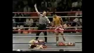 Yoddecha Sityodtong: Spinning Elbow KO by a Muay Thai Legend