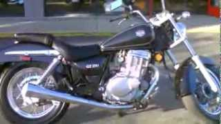 7. Contra Costa Powersports-Used 2004 Suzuki GZ250 lightweight cruiser/city commuter