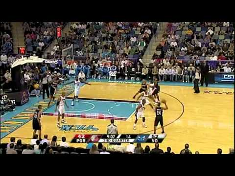 Portland Trail Blazers 87 – New Orleans Hornets 107