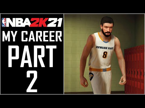 "NBA 2K21 - My Career - Walkthrough - Part 2 - ""Welcome To High School (East High Eagles)"""