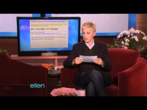 Ellen Found the Bestest of Craigslist!