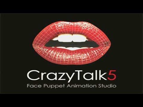 Como descargar e Instalar Crazy Talk 5 PRO FULL en Español + VOZ de Loquendo (JORGE) – HD