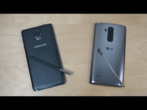 Samsung Galaxy Note 4 vs. LG G4 Stylus - Which Is Faster? (4K)