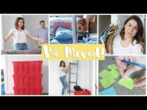 Nutrition - We're Moving!! Sneak Peek of NEW Apartment + Moving Hacks!
