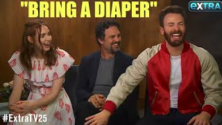Video AVENGERS ENDGAME CAST: FUNNIEST MOMENTS [PART 1/4] MP3, 3GP, MP4, WEBM, AVI, FLV Juli 2019