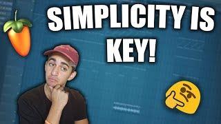 Video How to Make SIMPLE but FIRE Trap Beats - FL Studio Beatmaking MP3, 3GP, MP4, WEBM, AVI, FLV Desember 2018