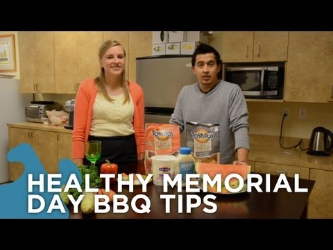 Healthy Memorial Day BBQ Tips