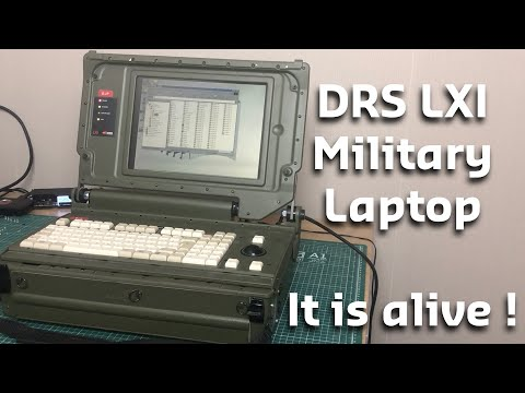 Military Laptop Part 3 : It is alive !