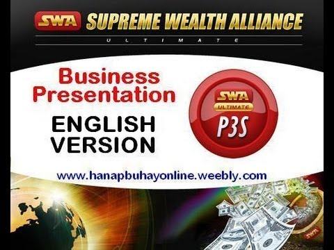 Supreme Wealth Alliance ULTIMATE ( Official Video Presentation )
