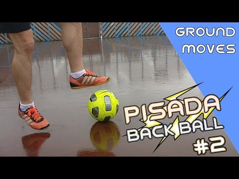 Cómo Hacer La PISADA BACK BALL: Ground Moves #2 L Trucos Fáciles Fútbol Calle 🔥| Living4Football