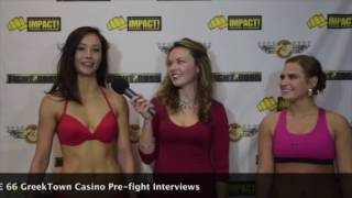 Interview with Rising MMA Star JuJu Auclair and Larkyn Dasch  - Stevey Maples, Video -Donofrio MMA