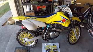 9. NEW GRAPHICS for the DRZ 125!