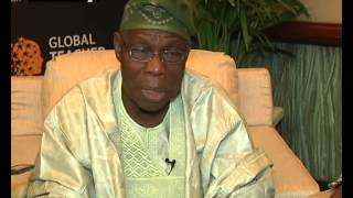 Former President Olusegun Obasanjo Speaks On 2015 Elections