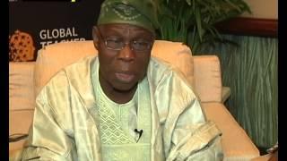 Former President Olusegun Obasanjo Speaks On 2015 Elections