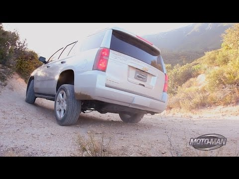 2015 Chevy Tahoe OFF ROAD through the National Forest to Big Bear Lake, California