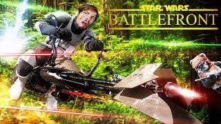 Video L'ART DE TOUT DÉGLINGUEY!!! Star Wars Battlefront MP3, 3GP, MP4, WEBM, AVI, FLV September 2017
