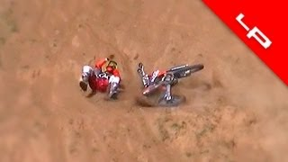 10. KTM 450 SX-F Hillclimb Crash