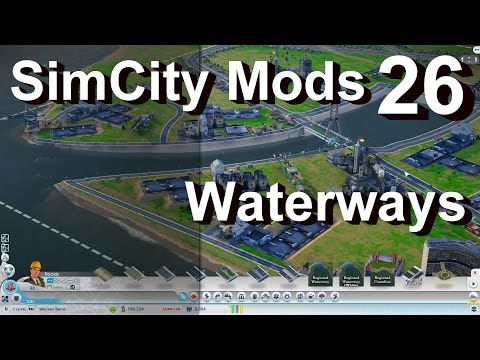Waterways - SimCity Mods - Coastlines & Waterways Tools - Create Rivers, Ferries and Docks Anywhere. SimCity Mods complete series playlist ▻ https://www.youtube.com/play...