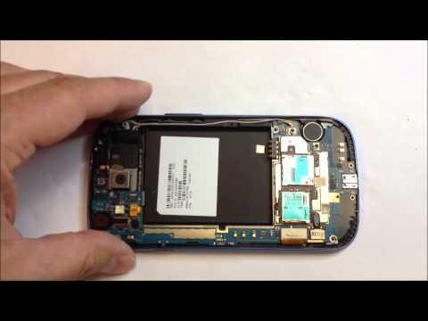 Samsung Galaxy S3 tear down for board swap