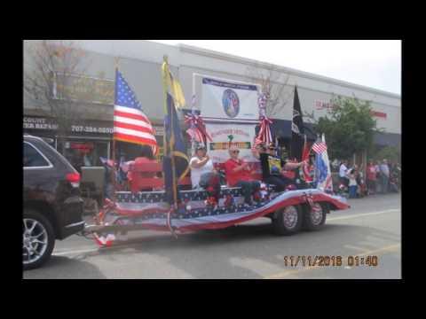 Fairfield-Suisun Veterans Day Parade 2016