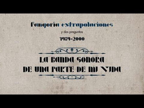 Frases tristes - Fangoria - La banda sonora de una parte de mi vida (Lyric Video)