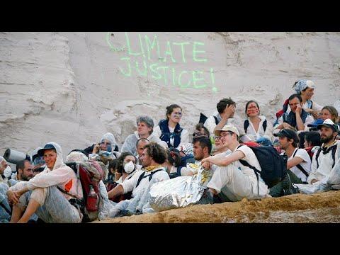 Γερμανία: Εισβολή ακτιβιστών σε ανθρακωρυχείο