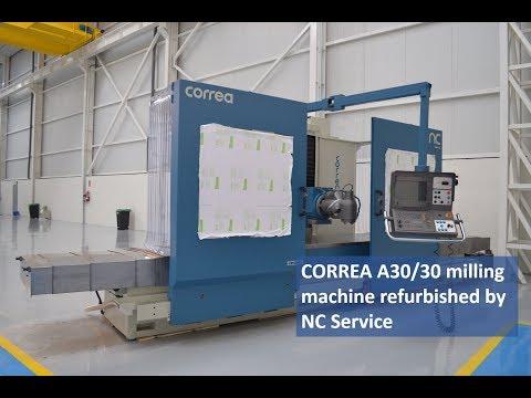 Frezarka łożowa CORREA A30/30 (630183) 2000