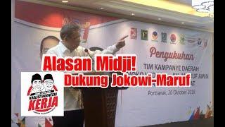 Video INI ALASAN SUTARMIDJI DUKUNG JOKOWI (Pidato Ketua Dewan Pengarah TKD Jokowi-Ma'ruf Kalbar) MP3, 3GP, MP4, WEBM, AVI, FLV Desember 2018