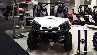 6. 2015 Can-am Commander 800 XT - Exterior and Interior Walkaround - 2014 Toronto ATV Show