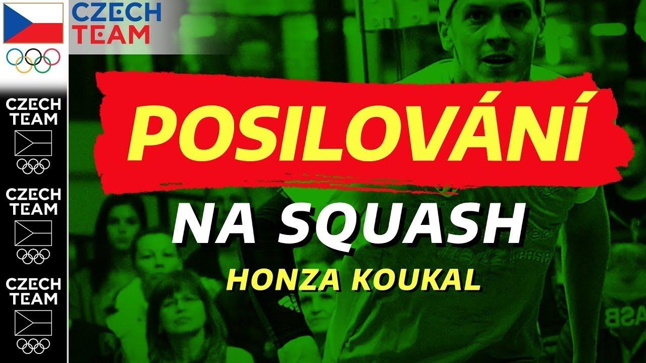Kondiční trénink na squash!