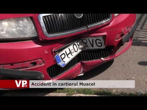 Accident în cartierul Muscel