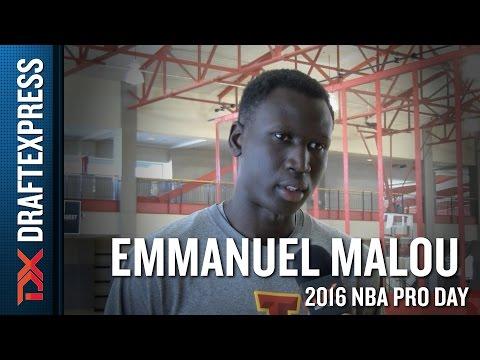 Emmanuel Malou Interview
