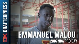 Emmanuel Malou Interview