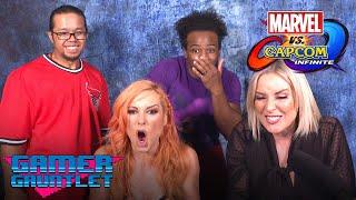 Video BECKY LYNCH vs. RENEE YOUNG: Marvel vs. Capcom: Infinite Challenge! - Gamer Gauntlet MP3, 3GP, MP4, WEBM, AVI, FLV Juni 2018