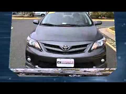 2012 Toyota Corolla S Sport Bluetooth in Stafford, VA 22554