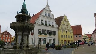 Nordlingen Germany  city pictures gallery : Nordlingen, Germany - Old town area (medieval) with intact wall still standing
