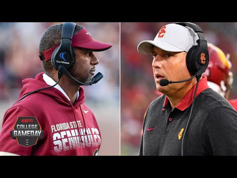 Who's the next coach at Florida State? What's next for Clay Helton at USC? | College GameDay