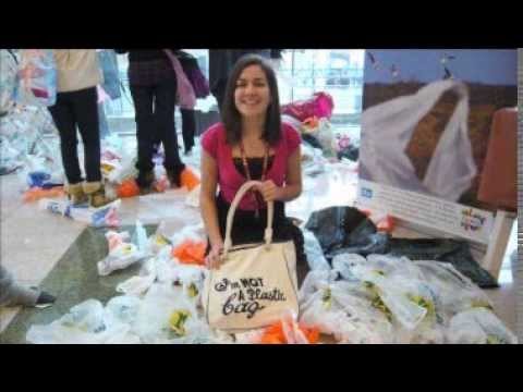 Plymouth Fixer Orla McKeon-Carter, who started a campaign to reduce plastic bag waste in the city, is amazed at what she's achieved in the year since her project began. This story was broadcast on ITV News West Country (W) in October 2009.
